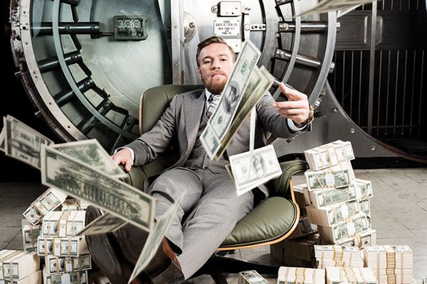McGregor with money